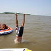 Alex jumping off the boat  ( 2005 )