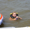 Bryce floating in the lake  ( 2005 )