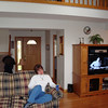 Lori in the living room of our rented condo.  ( 2008 )
