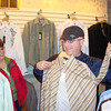 Kevin is picking out a new shirt and I think Lynann likes it.n  ( 2008 )
