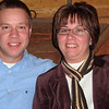 Todd and Lori at the Log Cabin Greek Steakhouse.  ( 2008 )