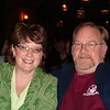 Lynann & Bruce enjoying supper at the Log Cabin Greek Steakhouse in Galena.  ( 2008 )