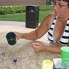 Lori playing a golfing dice game  ( 2008 )