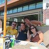 Bruce, Todd, Lori and Patti by the pool  ( 2008 )