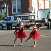 Stella dances in the streets of Wilton ( 2009 )