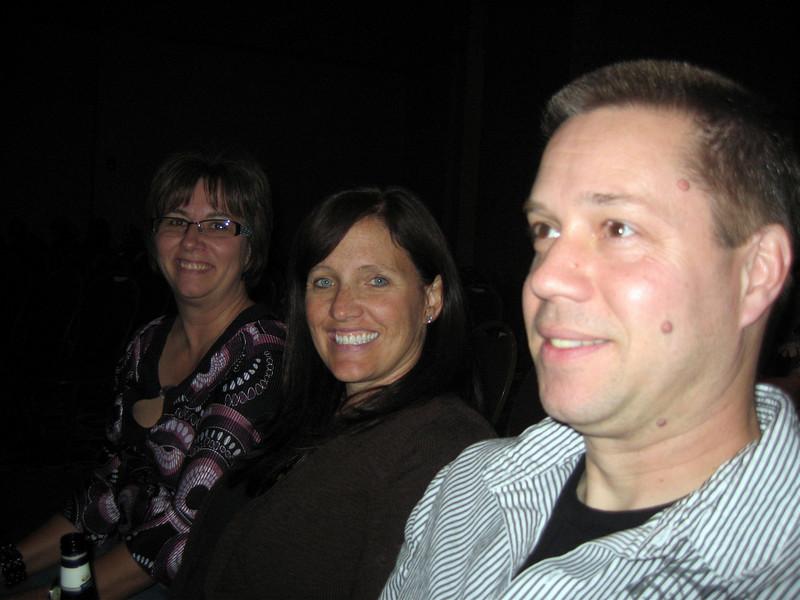 Lori, Patti and Todd enjoying the Richard Marx concert at the Riverside Casino ( 2009 )