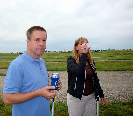 Todd and Patti before the race ( 2010 )