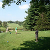 Bruce and Todd playing golf in Kalona ( 2010 )