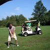 Todd, Bruce and Patti play golf in Kalona ( 2010 )