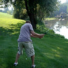 Todd playing golf in Kalona ( 2010 )