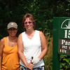 Lori and Nancy at the brew outing ( 2011 )