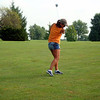 Nancy hits the ball in the brew golf tournament ( 2011 )