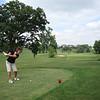 Lori golfing in Dewitt ( 2011 )