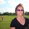 Lori on a windy golf day in Dewitt ( 2011 )