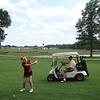 Bill and Lee golfing in Dewitt ( 2011 )