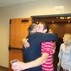 Alex gives Dan a birthday hug ( 2011 )