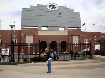 Kristie at Kinnick Stadium ( 2011 )