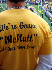 A McNutt fan at the Hawkeye game ( 2011 )