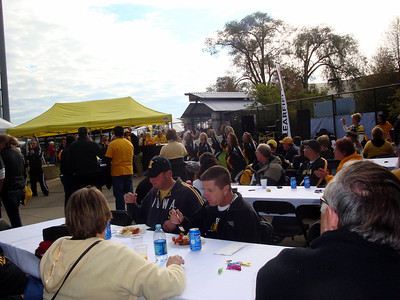 Tailgating in Iowa City for Hawkeye football game ( 2011 )