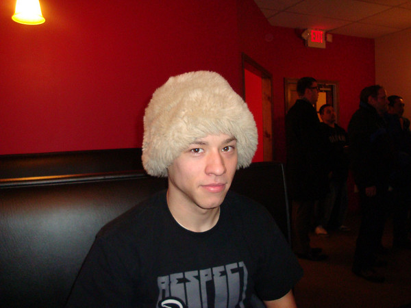 Alex is always up with the latest fashions ( 2011 )