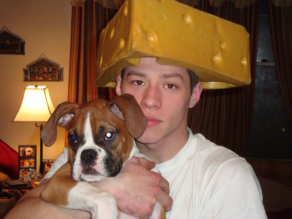 Boone and Alex, a couple of real cheese heads ( 2011 )