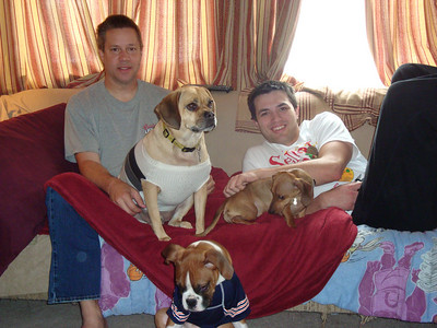 Todd, Louie, Boone, Charlie and Cory ( 2011 )