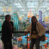 Lori and Cindy at Mall of America ( 2011 )