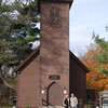 Mark and Todd outside the Little Brown Church in Nashua ( 2011 )