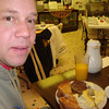 Todd has breakfast in a little diner in Nashua on the way to Minnesota ( 2011 )