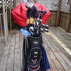Todds new Callaway Razr X golf clubs ( 2012 )