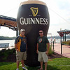 Todd and Kevin at the Irish Hooley in Dubuque ( 2013 )