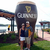 Kevin and Angie at the Irish Hooley in Dubuque ( 2013 )