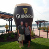 Todd and Lori at the Irish Hooley in Dubuque ( 2013 )