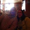 Ron and Shari at Procento's Pizzaria in Galena ( 2013 )