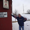 Todd outside the Blacksmith Shop in Galena ( 2013 )