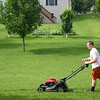 Bryce mows the grass ( 2014 )