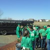 The party bus arrives at Kelly's for St.Patty's Day ( 2015 )