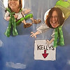 Lori and Shari skydive into Kelly's on St.Patty's Day ( 2015 )