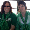 Shari and Lori on the party bus for St.Patty's Day (2015 )