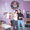 Cory, Travis and Todd singing after Christmas 2000