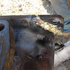 10-20 Water Manifold Rear - Back side of the weld.