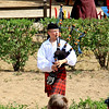 A bag piper at the KC ren-fest.