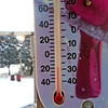 It got COLD last night!