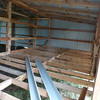 Floor Joists - A neighbor and I finished putting the joists in a couple days ago. Just need flooring, now.....