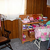 Baby Corner - My brother and I went and cleaned up the corner of Kali and Nathan's bedroom, and got it ready for the baby!