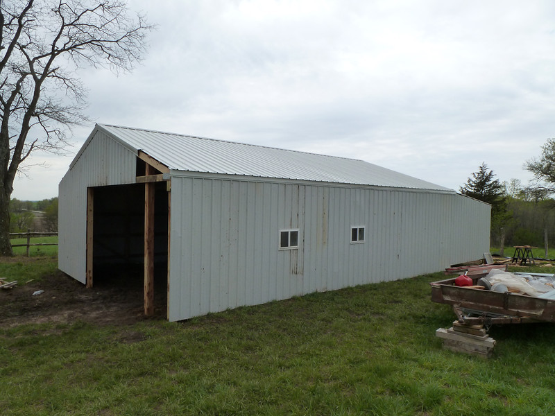 New Shop - Most of the exterior is done.