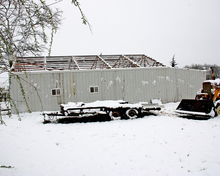 May Snowstorm - We got 5 inches of snow between last night and this morning...fine for winter, but it's SUPPOSE to be spring now, and not really liked in May!!  LOL  Poor fruit trees probably won't give us any fruit this year.  :-((