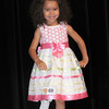 Lylah Dearing, poses during the Spring Cuties Pageant 3 year old division held at Woodrow Wilso auditorium.<br /> Rick Barbero/The Register-Herald