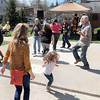 F. BRIAN FERGUSON/THE REGISTER-HERALD=There was dancing on the streets of Lewisburg during the 7th Annual Chocolate Festival.