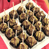 F. BRIAN FERGUSON/THE REGISTER-HERALD=Treats made by the Greenbrier during the 7th Annual Chocolate Festival.